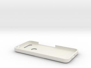 Google Pixel Phone case with Ferrari Logo in White Natural Versatile Plastic
