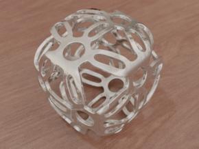 Symmetric Cuboid Structure 1 in White Natural Versatile Plastic