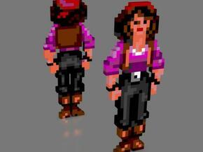 Elaine standing in Full Color Sandstone