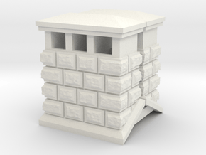 HOea423 -  Architectural elements 5 in White Natural Versatile Plastic