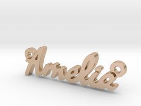 Amelia-sm in 14k Rose Gold