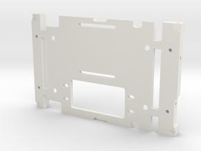 JaBird RC SCX10/10.2 CMS Plate in White Natural Versatile Plastic