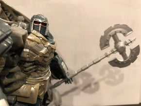 tf5 knights axes in Smooth Fine Detail Plastic