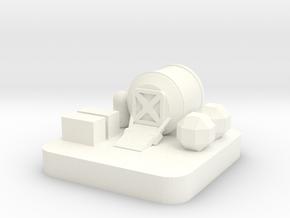 Mini Space Program, Base Airlock in White Processed Versatile Plastic