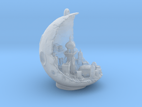 Moon City in Smooth Fine Detail Plastic