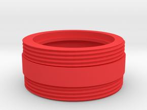 Coupler v2: Nebo REDLINE Tactical LED Flashlight in Red Processed Versatile Plastic