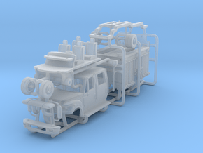 1/64 Terrastar Medium Duty Engine in Smooth Fine Detail Plastic