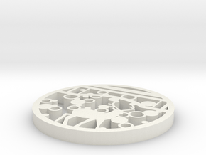 Life force in White Natural Versatile Plastic