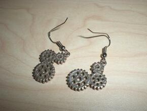 Gearrings in Polished Bronzed Silver Steel
