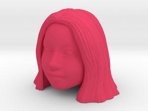 Smiling Mia in Pink Processed Versatile Plastic