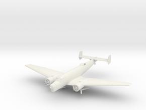Junkers Ju86K Wheels down (1/144 and 1/1250) in White Natural Versatile Plastic: 1:144