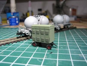 N Persluchtwagen voor de bollenwagen in Smoothest Fine Detail Plastic