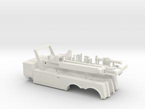 1/50th 35 ton Tandem Axle tow truck body in White Natural Versatile Plastic