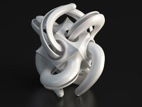Tentacon in White Processed Versatile Plastic