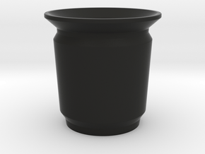 Modern Pencil Cup - Sm / Desk Accessories in Black Natural Versatile Plastic