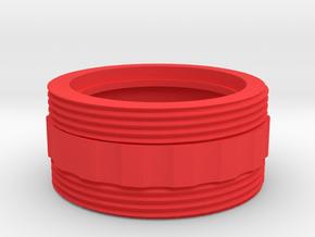 Coupler for Nebo REDLINE LED Flashlight - Bumpy in Red Processed Versatile Plastic
