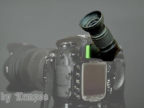Nikon Mount for Right Angle Finder in Green Processed Versatile Plastic