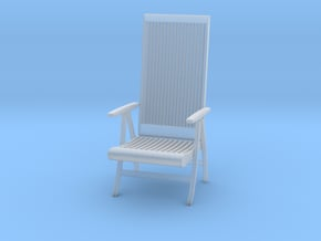 Chair 2018 model 2 in Smooth Fine Detail Plastic