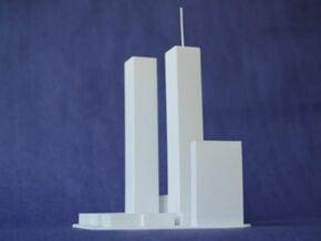 World Trade Center in White Natural Versatile Plastic