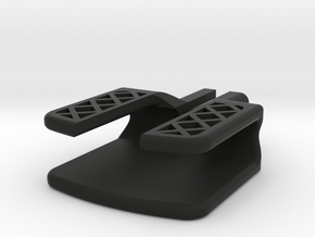 Micro USB Saver in Black Natural Versatile Plastic