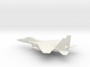 McDonnell Douglas F-15E Strike Eagle in White Natural Versatile Plastic: 1:160 - N