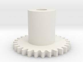 GEAR - MAIN GEAR in White Natural Versatile Plastic