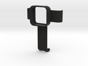 GRIPPEQUIP IPHONE X TO GOPRO SESSION ADAPTER in Black Natural Versatile Plastic