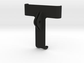 GRIPPEQUIP IPHONE X TO GOPRO MOUNT ADAPTER in Black Natural Versatile Plastic