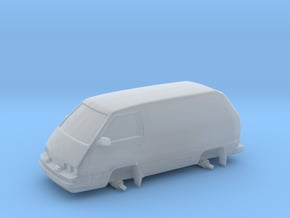 """1/87 Scale 4x4 Mini Van """"Panel Toy"""" in Smooth Fine Detail Plastic"""