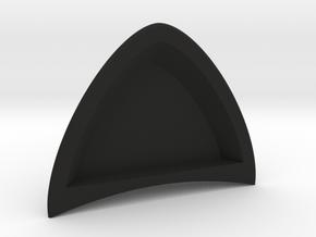 Cat ears for your headphones. (single piece) in Black Natural Versatile Plastic