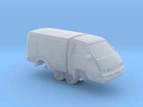 """1/87 Scale 4x4 Utility Van """"Toy"""" in Smooth Fine Detail Plastic"""
