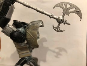 tf5 knights Short Axe in Smoothest Fine Detail Plastic