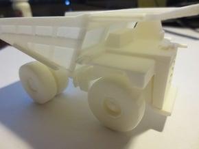 CAT 797B Mine Haul Truck 1:160 Scale in White Processed Versatile Plastic
