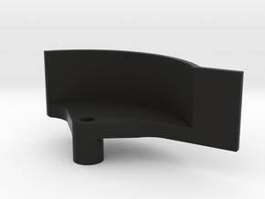 TLR 22 4.0T Spur Guard in Black Natural Versatile Plastic