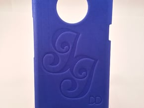 Htc One X - DD - Case custom drawing in Blue Processed Versatile Plastic