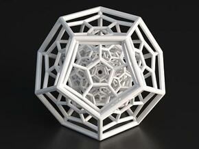 120-Cell in White Processed Versatile Plastic