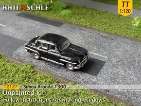 Simca Aronde 1300 (TT 1:120) in Smooth Fine Detail Plastic