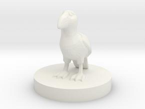 Puffin miniature  in White Natural Versatile Plastic