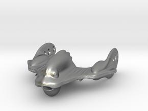 The crazy Robo Fish Spaceship! in Natural Silver