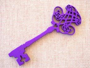 Magical Kids Key in Purple Processed Versatile Plastic