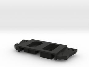 Single switch right in Black Natural Versatile Plastic