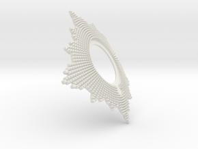 Helmet_Dragoon_1871_5thHelmetPlate_01 in White Natural Versatile Plastic