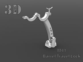 M41 Barrel Lock  in Smoothest Fine Detail Plastic