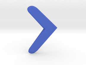 ALBW Nice Boomerang in Blue Processed Versatile Plastic