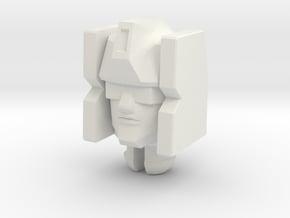 Rumble/Freezon Head for PotP Windcharger in White Natural Versatile Plastic