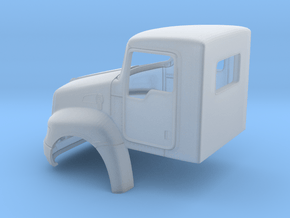 KW T370 Day Cab Light Duty Truck in Smooth Fine Detail Plastic