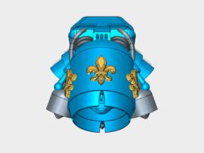 Fleur-De-Lis : Gryphus Jetpack (PM) in Smooth Fine Detail Plastic: Small