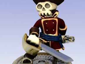 Captain Skully in Full Color Sandstone
