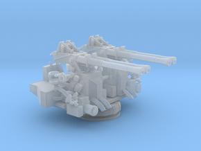 1/144 USN 40mm Quad Bofors Mount in Smooth Fine Detail Plastic