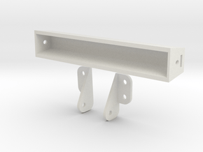 Crawler 106mm Wide Light Bar in White Natural Versatile Plastic
